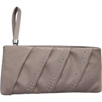 Malas Mulher Pouch / Clutch Made In Italia Bolsa AB989 Bege