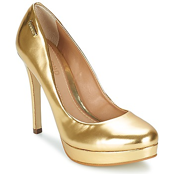 Sapatos Mulher Escarpim Dumond MIRROURO Ouro