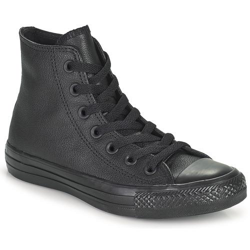 Sapatos Sapatilhas de cano-alto Converse CHUCK TAYLOR ALL STAR MONO HI Preto
