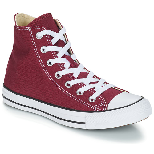 Sapatos Sapatilhas de cano-alto Converse CHUCK TAYLOR ALL STAR CORE HI Bordô