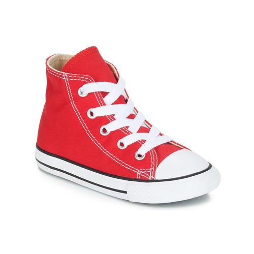 ... Sapatos Criança Sapatilhas de cano-alto Converse CHUCK TAYLOR ALL STAR  CORE HI Vermelho 7c7486637b2d9b ... 8cc8bd95f061f