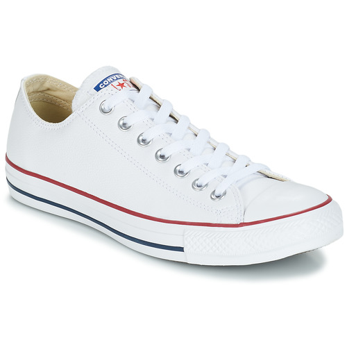 Sapatos Sapatilhas Converse Chuck Taylor All Star CORE LEATHER OX Branco