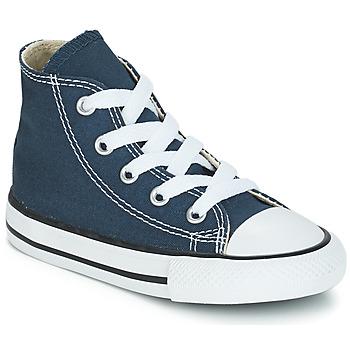 Sapatos Criança Sapatilhas de cano-alto Converse CHUCK TAYLOR ALL STAR CORE HI Marinho