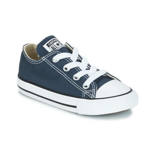 e24e9e13c3c Sapatos Criança Sapatilhas Converse CHUCK TAYLOR ALL STAR CORE OX Marinho