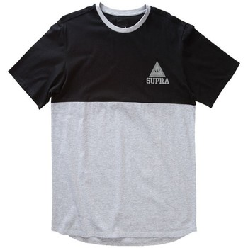 Textil Homem T-Shirt mangas curtas Supra  Cinza
