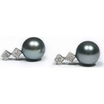 Relógios & jóias Mulher Brincos Luna-Pearls O124-TE0111 Multicolor