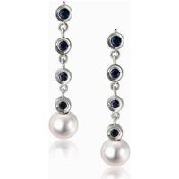 Relógios & jóias Mulher Brincos Luna-Pearls O33-AE0056 Multicolor