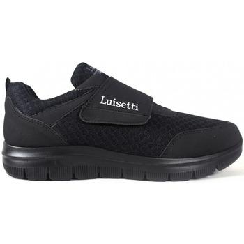 Sapatos Homem Sapatilhas Luisetti Zapatos  31104 Negro Preto