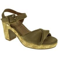 Sapatos Mulher Sandálias Isteria 9034 Beige