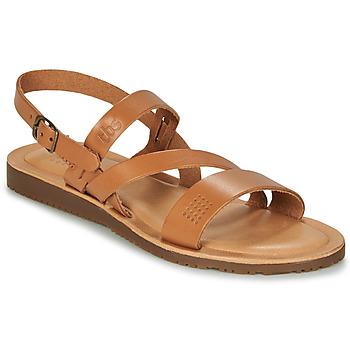 Sapatos Mulher Sandálias TBS BEATTYS Conhaque
