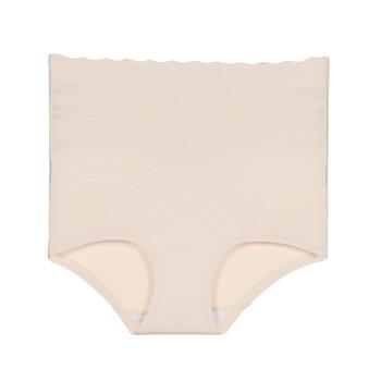 Roupa de interior Mulher Cuecas de cintura subida DIM BEAUTY LIFT CULOTTE Bege