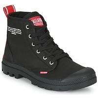 Sapatos Botas baixas Palladium PAMPA HI DU C Preto