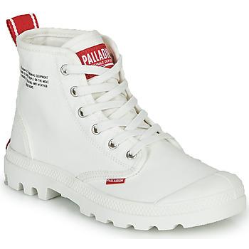Sapatos Botas baixas Palladium PAMPA HI DU C Branco
