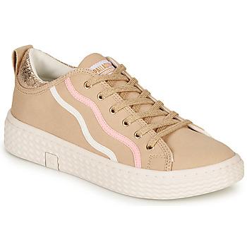 Sapatos Mulher Sapatilhas Palladium TEMPO 02 CVS Bege