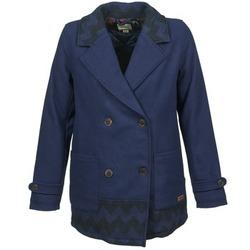 Textil Mulher Casacos Roxy MOONLIGHT JACKET Marinho / Preto