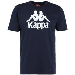 Textil Homem T-Shirt mangas curtas Kappa Caspar Tshirt Azul marinho