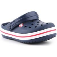 Sapatos Criança Tamancos Crocs Crocband clog 204537-485 granatowy