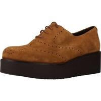 Sapatos Mulher Richelieu Clover 7580C Marron