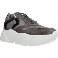 Sapatos Mulher Sapatilhas Voile Blanche M0NSTER Cinza