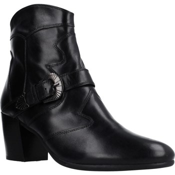 Sapatos Mulher Botins Geox D NEW LUCINDA Preto