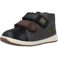 Sapatos Rapaz Sapatilhas de cano-alto Garvalin 191313 Preto
