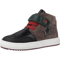Sapatos Rapaz Sapatilhas de cano-alto Garvalin 191358 Marron