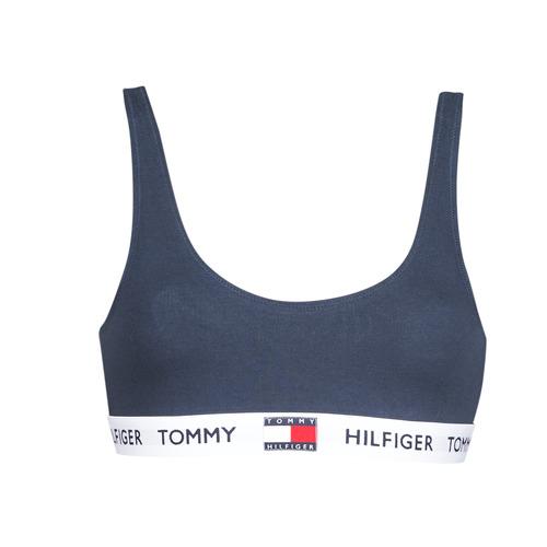 Roupa de interior Mulher Soutiãs sem arco Tommy Hilfiger ORGANIC COTTON Marinho