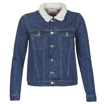 Textil Mulher casacos de ganga Moony Mood LOTITO Azul