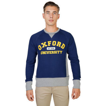 Textil Homem Sweats Oxford University - oxford-fleece-raglan Azul