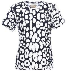 Textil Mulher T-Shirt mangas curtas Eleven Paris BIRINA Preto
