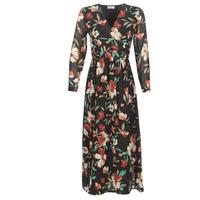Textil Mulher Vestidos compridos Betty London LIMBA Preto / Multicolor