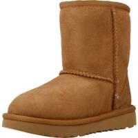 Sapatos Rapariga Botas de neve UGG CLASSIC II Marron