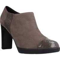 Sapatos Mulher Botas baixas Geox D ANNYA HIGH Marron
