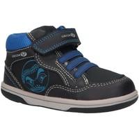 Sapatos Rapaz Sapatilhas de cano-alto Geox B9437A 0MEAF B Azul