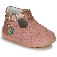 Sapatos Rapariga Sandálias Kickers BONBEK-3 Rosa / Polka dot