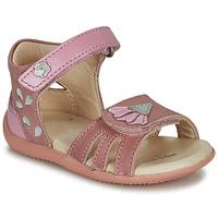 Sapatos Rapariga Sandálias Kickers BICHETTA Rosa