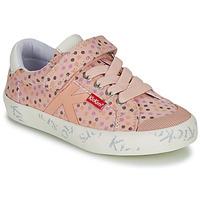 Sapatos Rapariga Sapatilhas Kickers GODY Rosa / Polka dot
