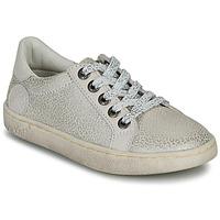 Sapatos Rapariga Sapatilhas Kickers LYKOOL Cinza / Prata / Leopardo