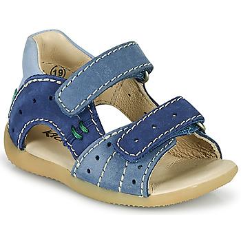Sapatos Rapaz Sandálias Kickers BOPING-3 Azul