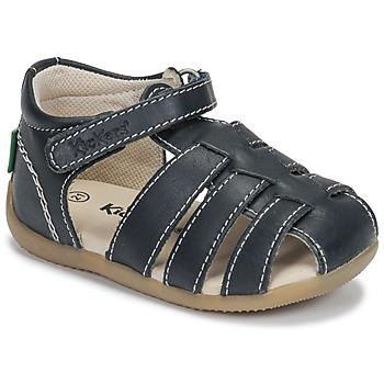 Sapatos Criança Sandálias Kickers BIGFLO-3 Marinho