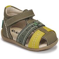 Sapatos Criança Sandálias Kickers BIGBAZAR-3 Verde