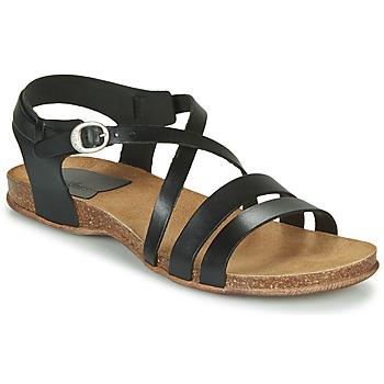 Sapatos Mulher Sandálias Kickers ANATOMIUM Preto