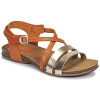 Sapatos Mulher Sandálias Kickers ANATOMIUM Camel / Ouro