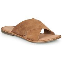Sapatos Mulher Chinelos Kickers DIAZ-2 Camel