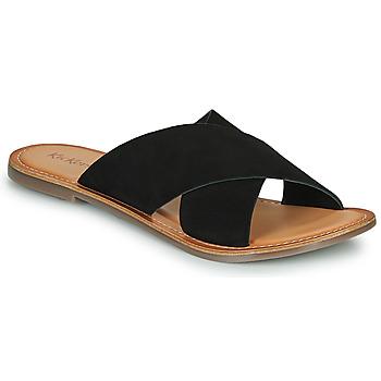 Sapatos Mulher Chinelos Kickers DIAZ-2 Preto