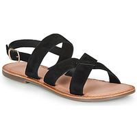 Sapatos Mulher Sandálias Kickers DIBA-3 Preto
