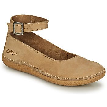 Sapatos Mulher Sabrinas Kickers HONNORA Bege