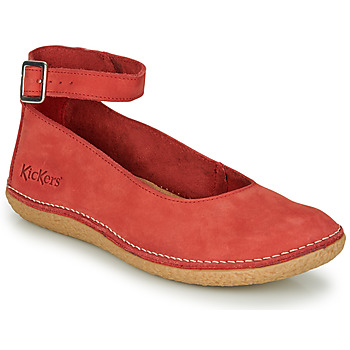 Sapatos Mulher Sabrinas Kickers HONNORA Vermelho