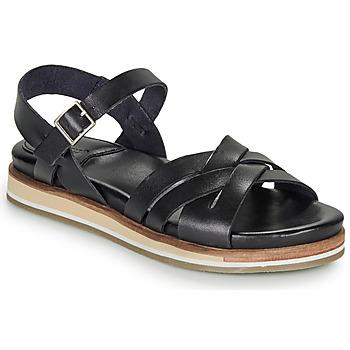 Sapatos Mulher Sandálias Kickers OLIMPIK Preto