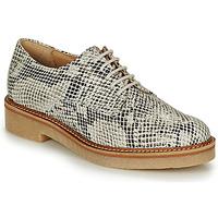 Sapatos Mulher Sapatos Kickers OXFORK Branco / Preto